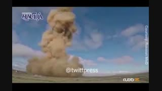 پرتاب موشک اس ۵۰۰ توسط ارتش روسیه