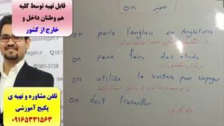 سریعترین روش آموزش مکالمه ی فرانسه -لغات فرانسه و گرامر فرانسه