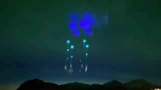 نورهای عجیب در آسمان نروژ
