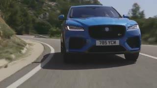 تبلیغ جدید خودروی Jaguar F-PACE SVR