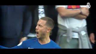 ادن هازارد، ستاره جدید رئال مادرید