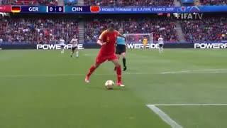 جام جهانی فوتبال زنان: خلاصه دیدار آلمان ۱/ چین ۰