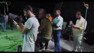 پشت صحنه دوم فیلم ایرانی هندی دختر شیطان