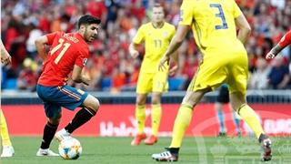 خلاصه دیدار اسپانیا 3_0 سوئد (مقدماتی جام ملتهای اروپا 2020)