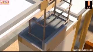 فیلم مراحل ساخت ساختمان بتنی