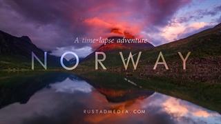 تایم لپس زیبا از طبیعت نفس گیر نروژ