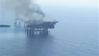 آتشسوزی سکوی ۹ پارسجنوبی
