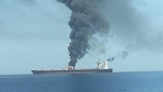 انفجار در نفتکش های دریای عمان