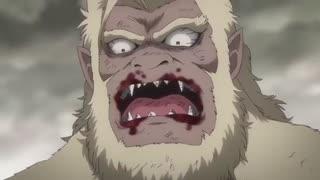 مبارزه کاتسورا و شوکاکو از انیمه گینتاما