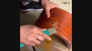 استفاده از توتون سیگار برای ترمیم وسایل چوبی | nect.ir