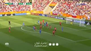 جام جهانی جوانان؛  اوکراین 3_1 کرهجنوبی (گلهای مسابقه دیدار پایانی)