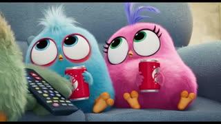 سکانسی از انیمیشن The Angry Birds Movie 2