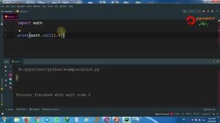 (فارسی)python math function
