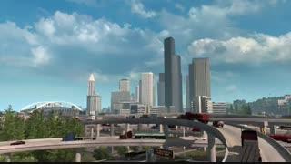 بازی American Truck Simulator Washington برای کامپیوتر