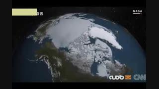 آب شدن ۲ میلیارد تن از یخهای گرینلند در یک روز
