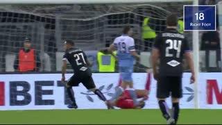 فابیو کوالیارلا آقای گل سری آ ایتالیا در فصل 2018-2019