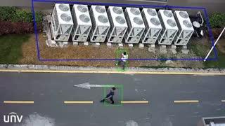 ویژگی هوشمند دوربین های مداربسته یونی ویو: تشخیص ورود به محدوده غیرمجاز