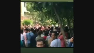 شعار تُند پرسپولیسیها علیه وزیر ورزش