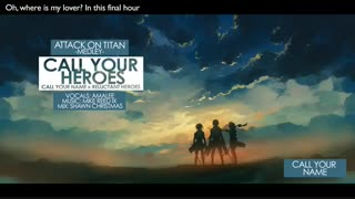 Attack on Titan - 'Call Your Heroes'+ت