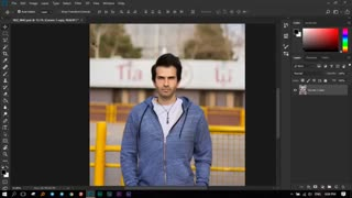 آموزش حذف پس زمینه عکس در فتوشاپ با ابزار جدید smart selection یا انتخاب هوشمند