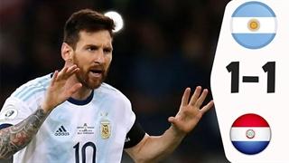 خلاصه دیدار آرژانتین 1_1 پاراگوئه (کوپا آمریکا 2019)