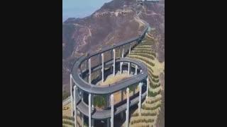 39 - کلیپ ابر سازه های جاده ای و راه سازی . مهندسین چینی . آزمون زمین شناسی .