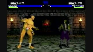 تمامی کدها و ترفندهای بازی مورتال کمبت Mortal Kombat 4 در N64 و PS1 و PC