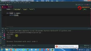 (حلقه for در پایتون)python for loop