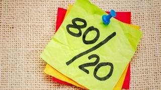 قانون 80/20 بازدهی شما را در کار و زندگی بالا میبرد