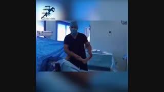 فیلم جراحی آزاد سازی تاندون های آشیل و فلکسور هیپ