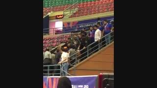 کتک زدن خبرنگاران ورزشی در اردبیل