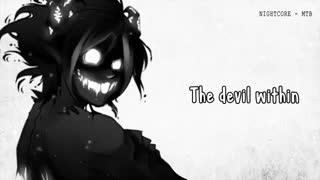 نایتکور بسیار زیبای the devil within ** شیطان درون