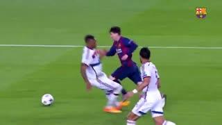 10 گل برتر مسی در بارسلونا از نگاه هواداران