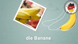 خرید میوه در آلمان - آموزش زبان آلمانی در میگریت جرمنی