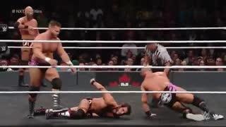 مسابقه تگ تیم The Revival مقابل DIY در رویداد NXT TakeOver: Toronto