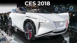 نمایشگاه CES 2018- معرفی خودروی خودران نیسان