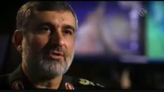 سردار حاجیزاده فرمانده نیروی هوافضای #سپاه:
