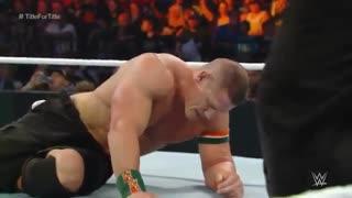 دانلود مسابقه John Cena مقابل Seth Rollins در رویداد SummerSlam 2015
