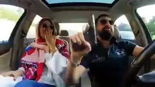 ویدئویی از محسن افشانی با سلاح گرم در اینستاگرام