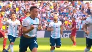 خلاصه دیدار آرژانتین 2_0 ونزوئلا (کوپا آمریکا)
