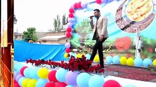 اجرای برنامه هنری تقلید صدای خوانندگان (سامان طهرانی)