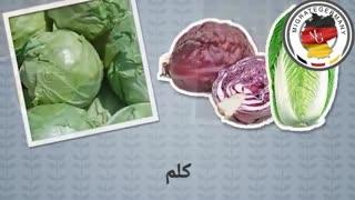 آموزش زبان آلمانی (سبزیجات)
