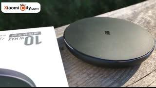 جعبه گشایی شارژر بی سیم Qi Wireless شیائومی مدل WPC01ZM