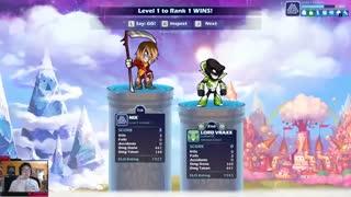 Level 1 to Rank 1 #6: Reaching Diamond! | Brawlhalla Ranked