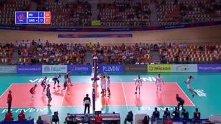 مسابقه والیبال ایران صربستان لیگ جهانی 2019