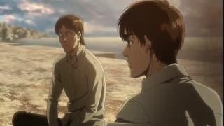انیمه اکشن و زیبای حمله به غول ها ( Attack on Titan )  فصل سوم قسمت 21 با زیرنویس فارسی