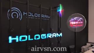 ایرویژن نسل نوین نمایشگرهای سه بعدی معلق در هوا