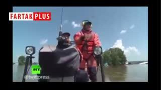سیل ۵ متری که روسیه را درنوردید