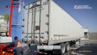 کارواش کالسکه ای ماشین سنگین - مونورول ایستوبال