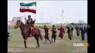 حضور زنان و مردان ایرانی در جشنواره و مسابقات بین المللی عشایر قزاقستان